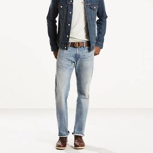 Levi's 514 Slim Straight Light Wash Jeans
